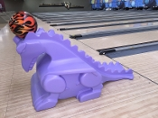 Purple Glow in the Dark Dragon (Pair) 15-8075